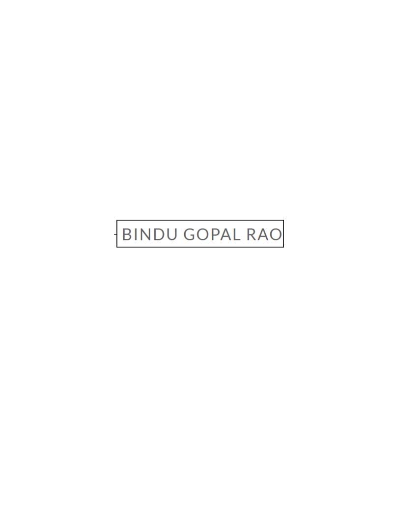 Bindugopalrao.com