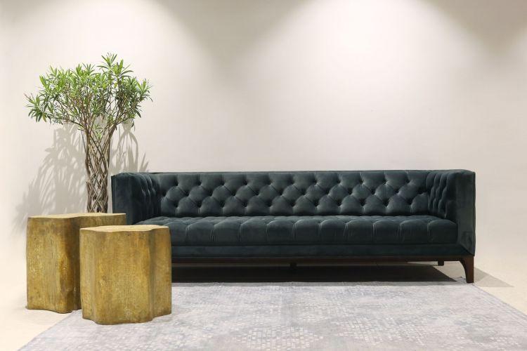 Teal Chesterfield Sofa