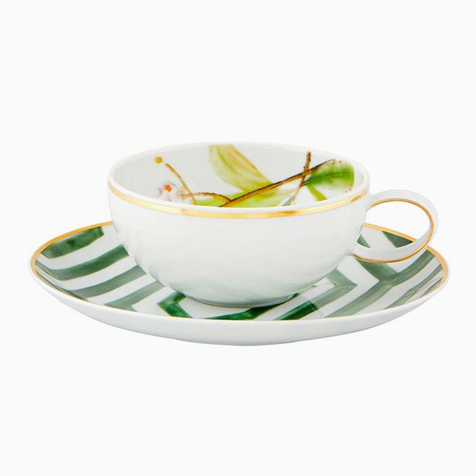 Tea Cup & Saucer  (Set of 4) - Amazōnia