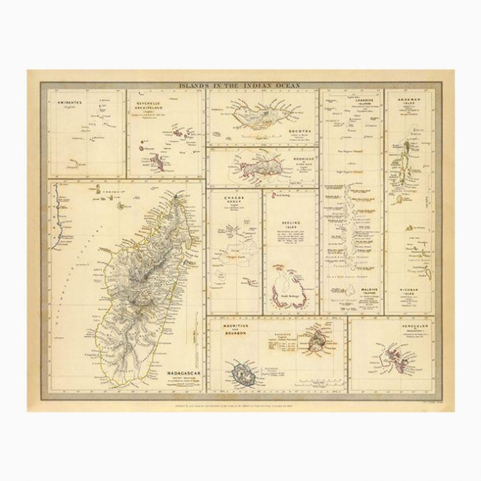 Islands In The Indian Ocean (1844)