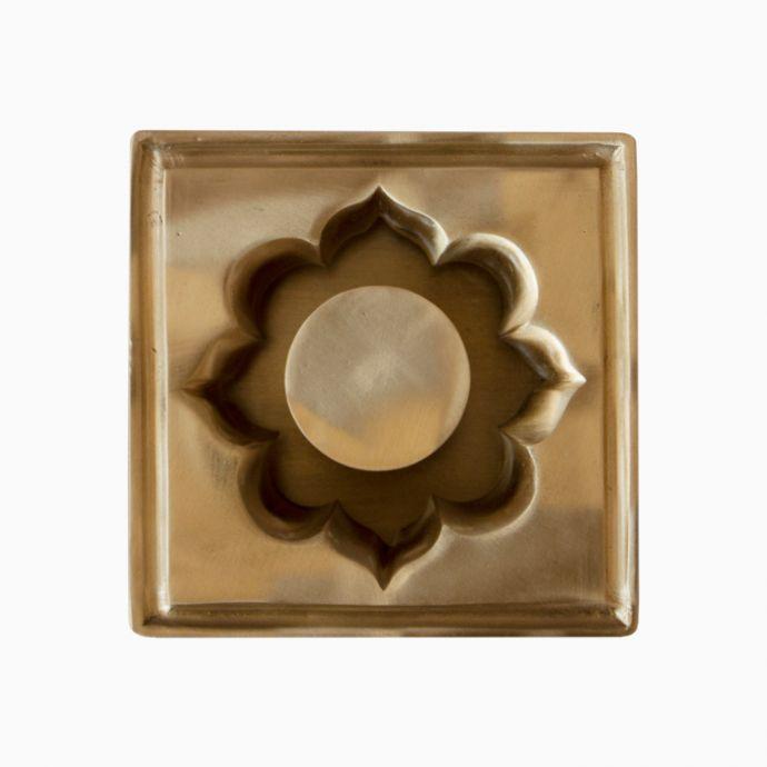Arabesque Brass Ashtray