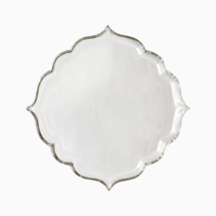 Arabesque Glass Plate