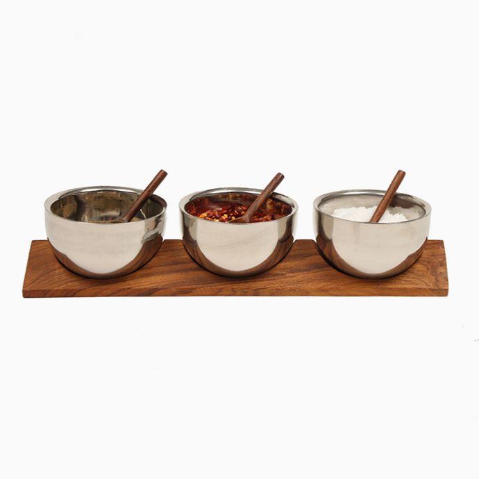 Arrowhead (Set Of 3) Bowls