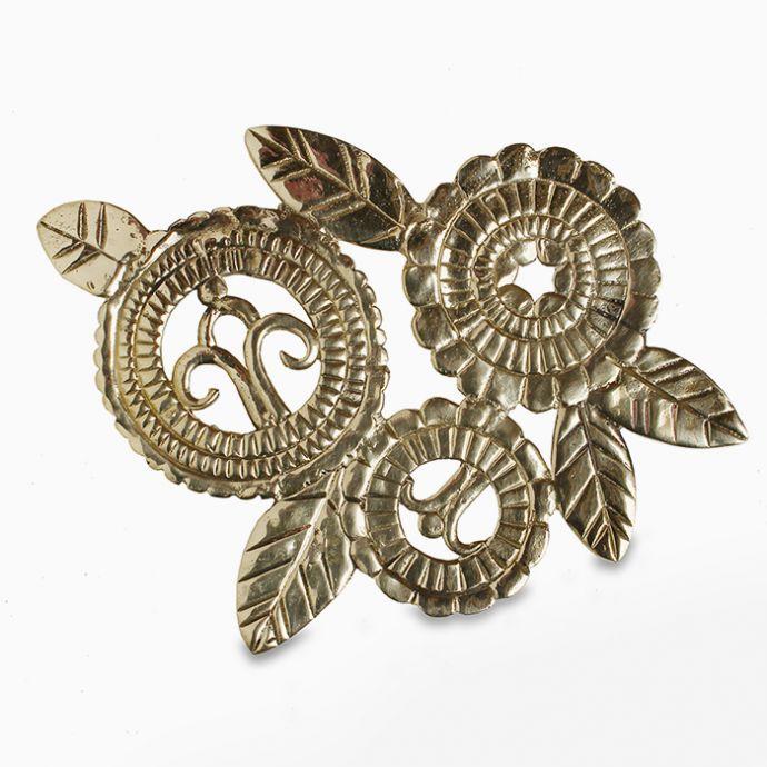 Deco Trivet - Gold