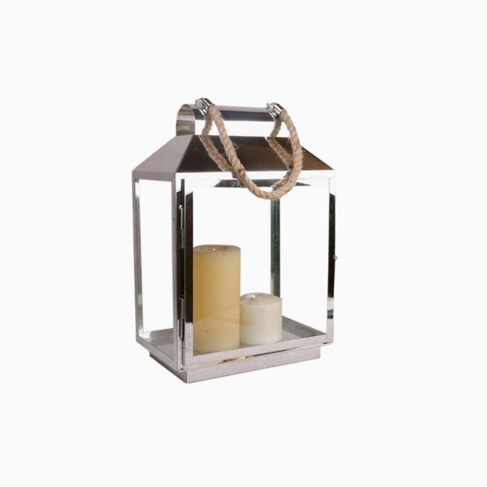 Augustin Stainless Steel Lantern