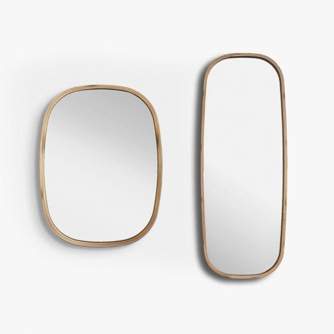Bamboo Mira Squircle Mirror