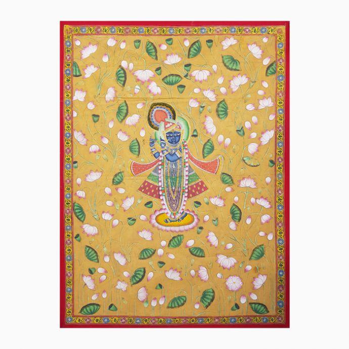 Basant Shringaar Pichwai Painting