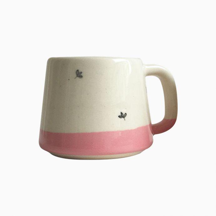 Bela Tea Cups Pink (Set of 2)