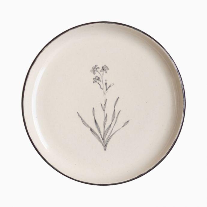 Bouquet Quarter Plates (Set of 2)