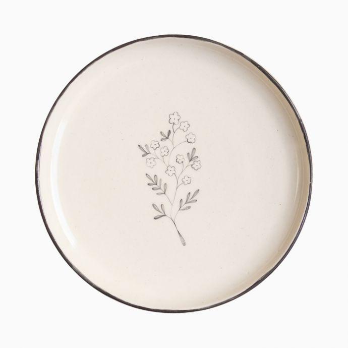 Chameli Quarter Plates (Set of 2)