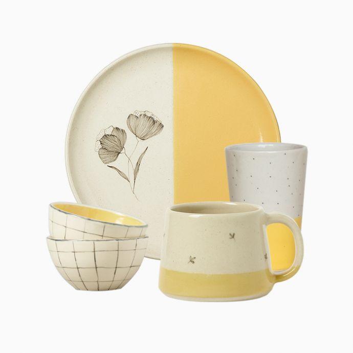 Mustard Breakfast Set
