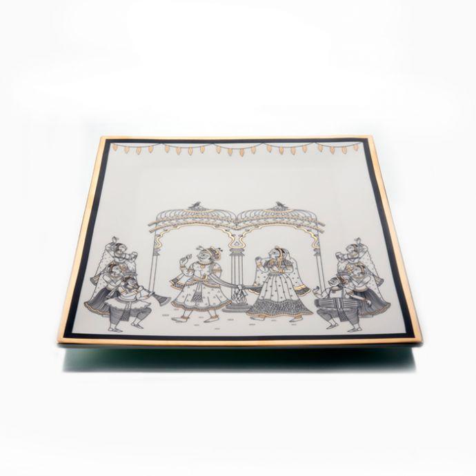 BYAH - Square Platter