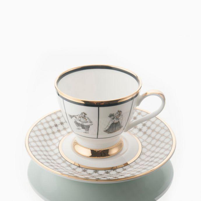 BYAH - Tea Cup & Saucer (Set of 2)