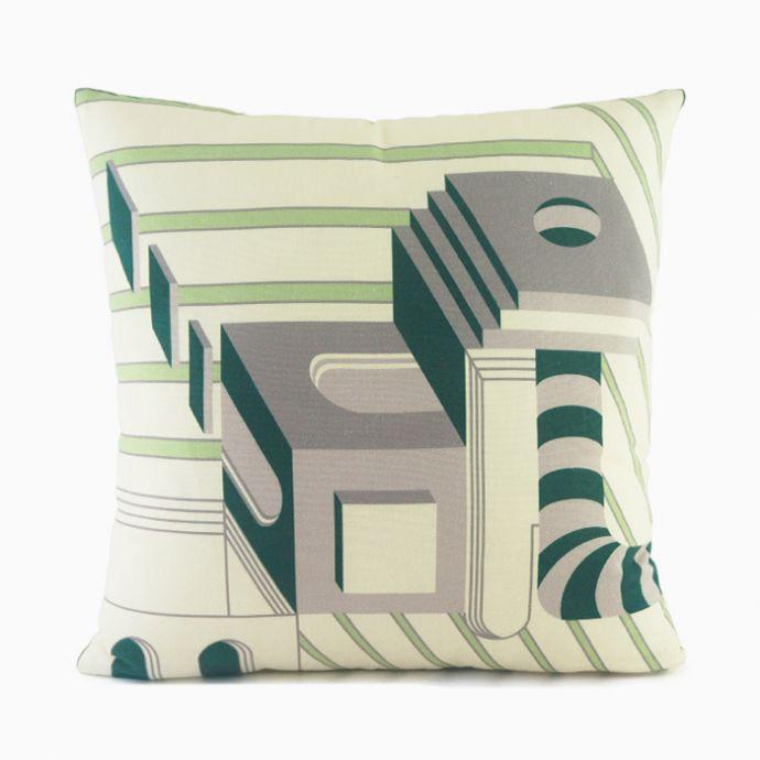 City Blocks Cushion