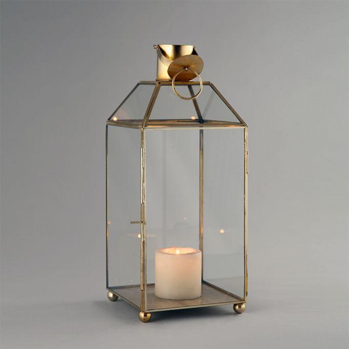 Clear Gold Lantern