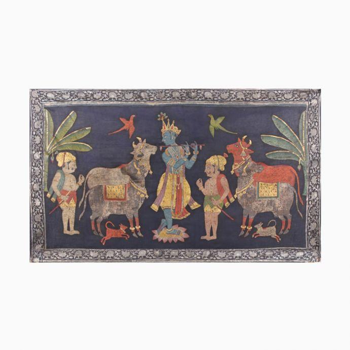 Shri Krishna on Gopashtami Pichwai