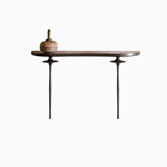 Disc Metal Console