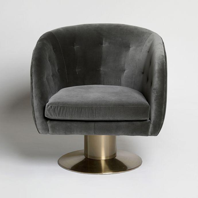 Drum Swivel Chair