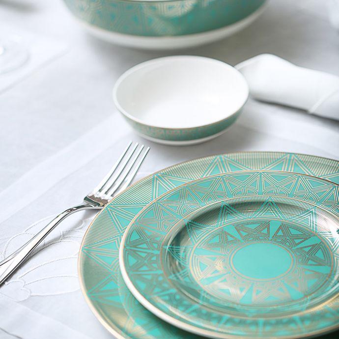 Emerald Palace Dinner Set (20 Pcs - Setting Of 6)