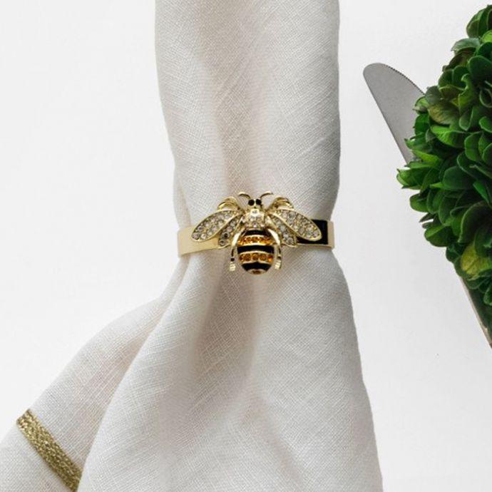 Stripy Bee Napkin Ring