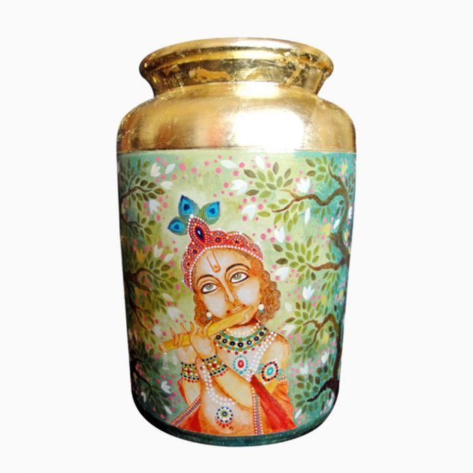 Krishna Urn 2