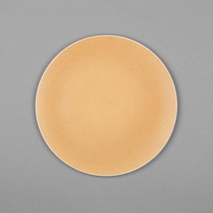Basik Plate - Small - Yellow (Set of 2)
