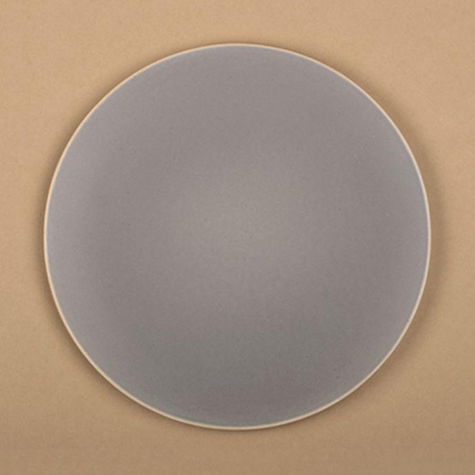 Basik Plate - Large - Grey (Set of 2)