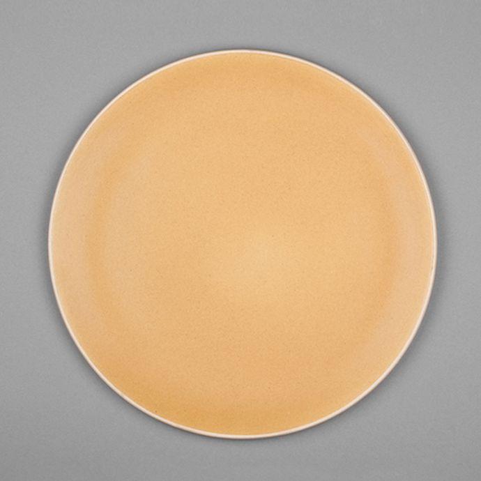 Basik Plate - Large - Yellow (Set of 2)
