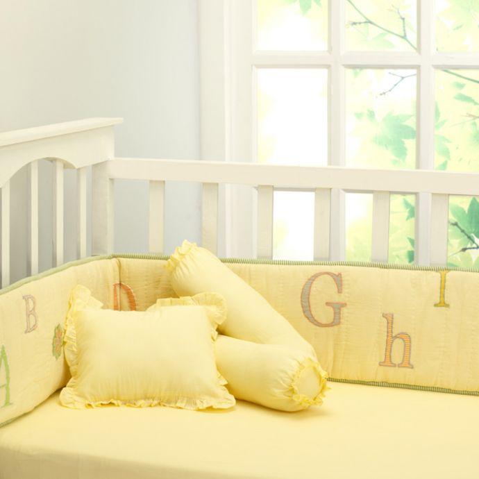 Abcs With Gizzie Pillows + Sheet