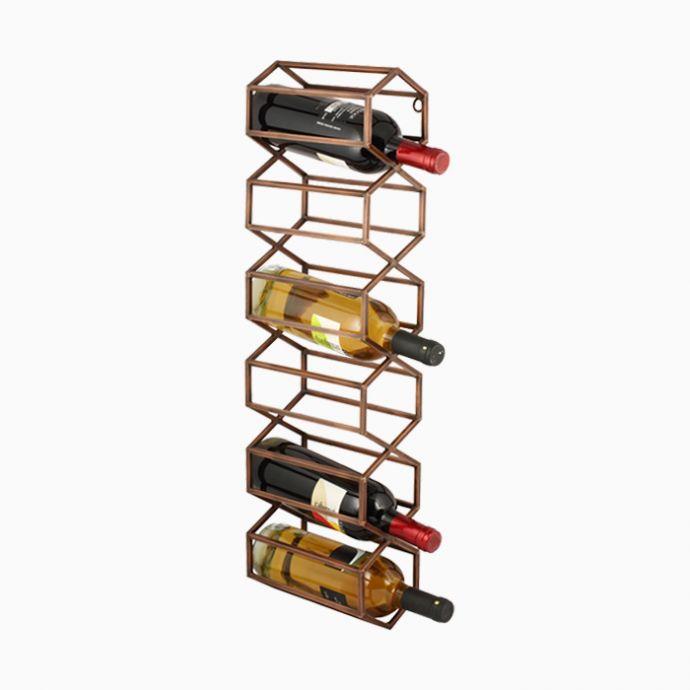BeeHive Wall Wine & Bar Rack