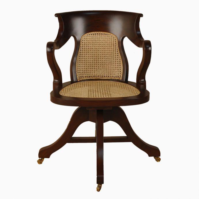 Edwardian Swivel Chair