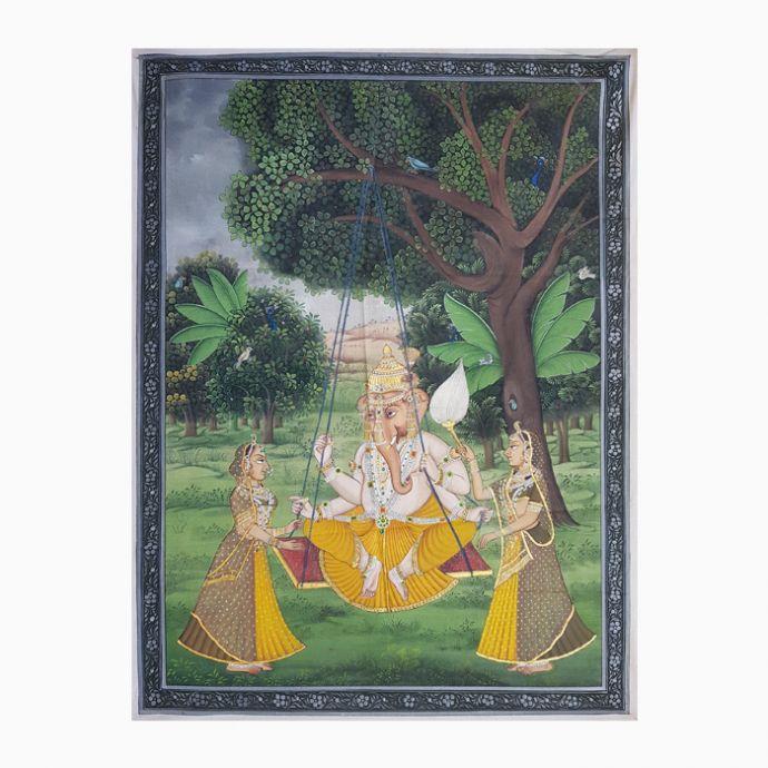 Ganesha Pichwai