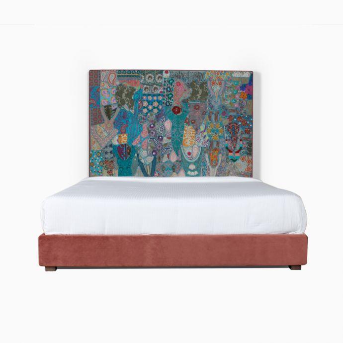 Vintage Patchwork Bed