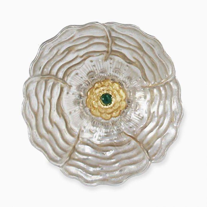 Himalayan Rose Bowl  (Silverplate)
