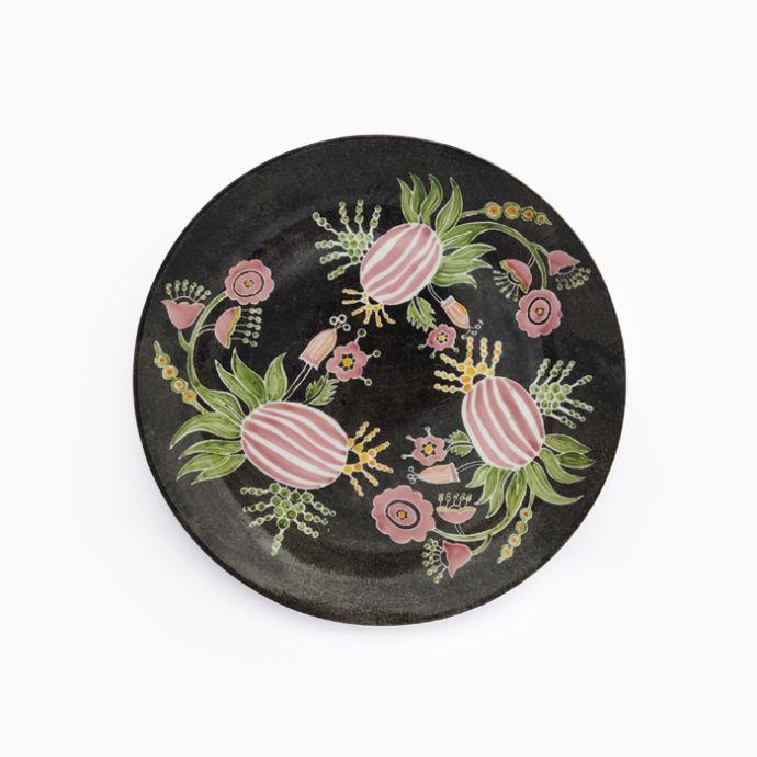 Jodi Hand Painted Pine Plate
