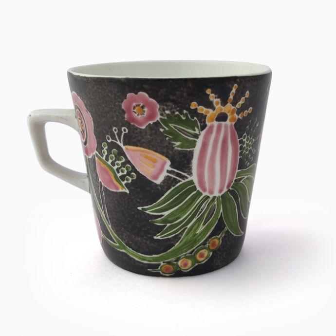 Jodi Hand Painted Pine Chai Cup