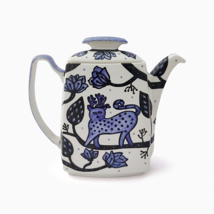 Jodi Hand Painted Gondh Tea Pot