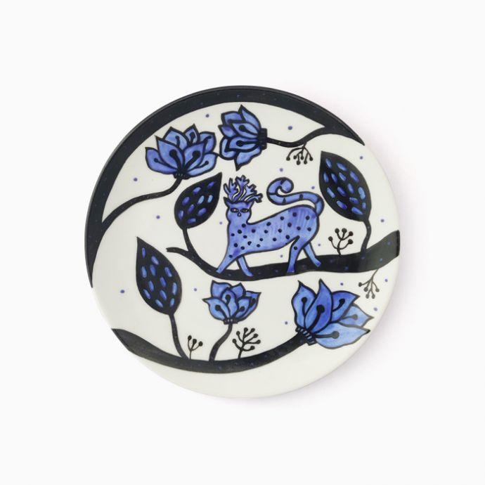 Jodi Hand Painted Gondh Plate