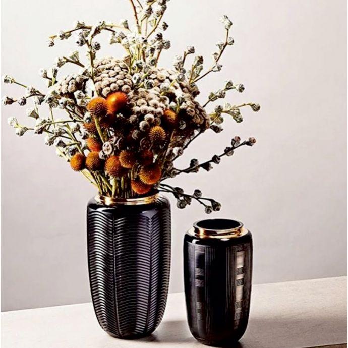 Jet Black - Case With Large Vase