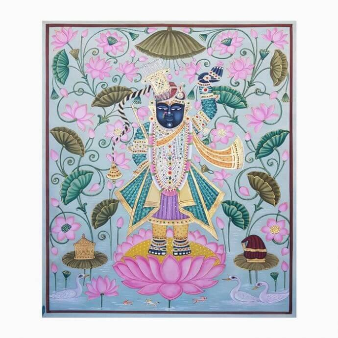 Kamal Shringaar Pichwai Painting