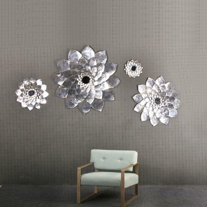 Luxe Me Lotus Mirror Silver