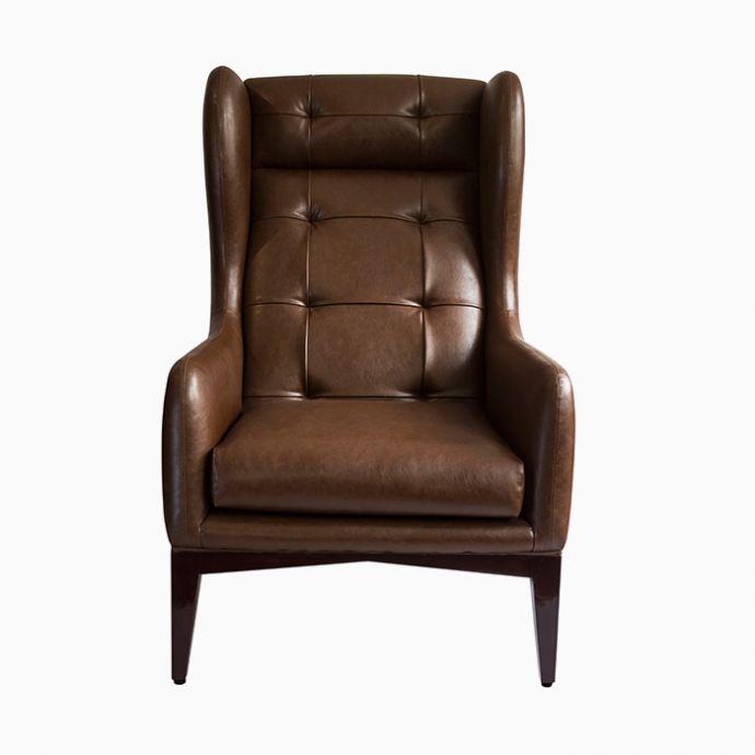 Manhattan High Back Wing Chair