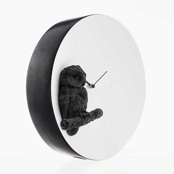 Moon X Clock - Owl