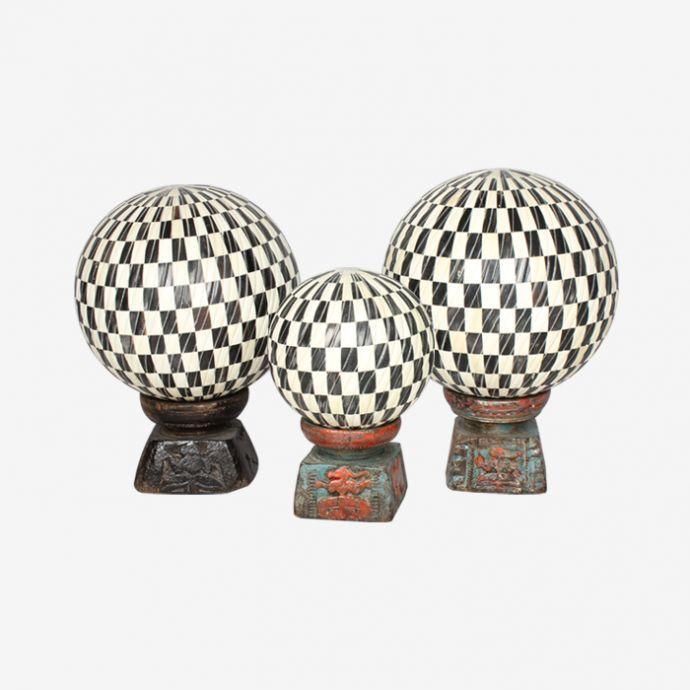 Checkered Inlay Ball