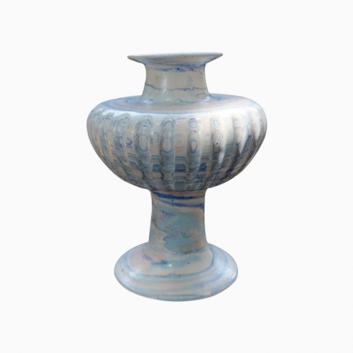 Nerikomi Ceramic vase