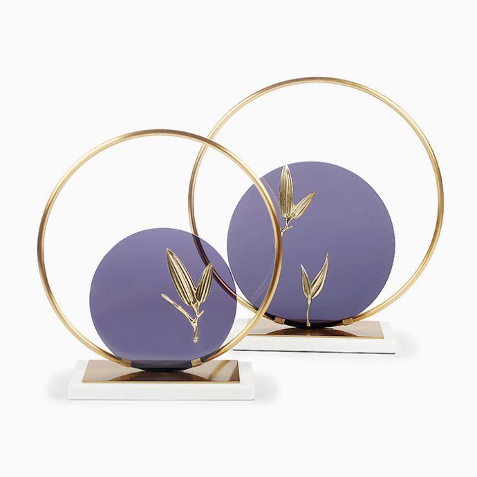 Orchid Eclipse Sculpture Set