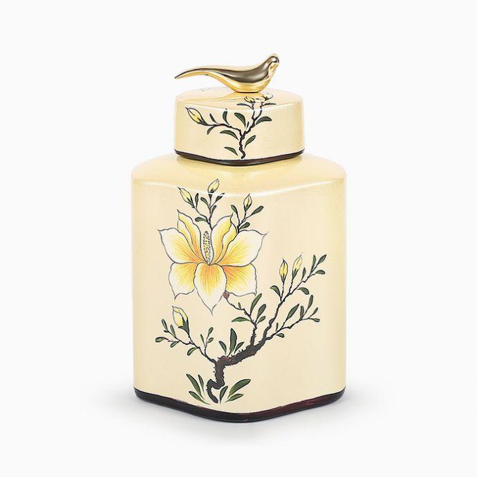 Oriental Lily Jar
