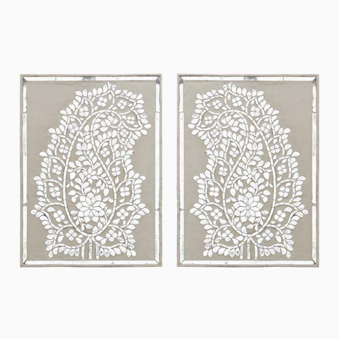 Paisley Thikri Panel (Set Of 2)