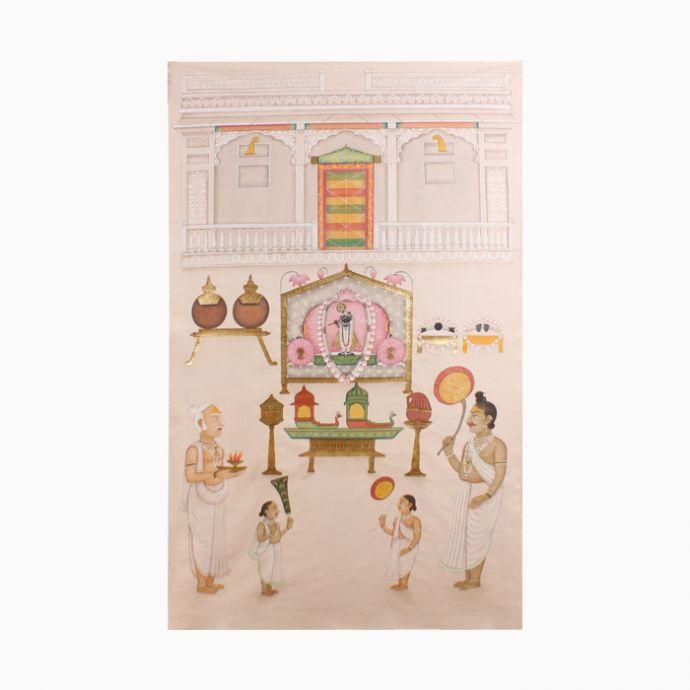 Sandhya Aarti Pichwai