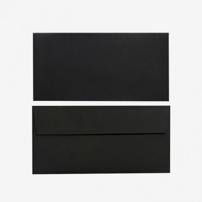Set of Envelopes (Black)